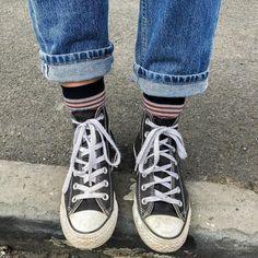 """1,747 curtidas, 20 comentários - Gaja (@gaja.xo) no Instagram: """"cute socks and converse """""""