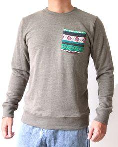 Long Sleeve Hoodie Sweatshirt Tribal and Native by Trendbeach