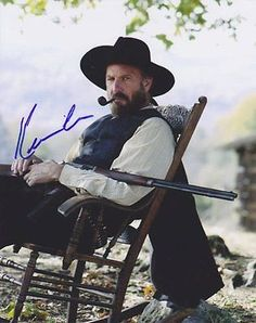 Kevin Costner Autographed Signed 8X10 Photo COA 'Hatfields & Mccoys'
