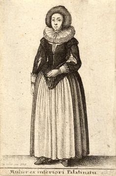 View Plate - Hollar Collection - University of Toronto Libraries  Frau aus der Kurpfalz