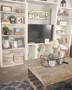 57 Best Living Room End Table decor images | Decor ...