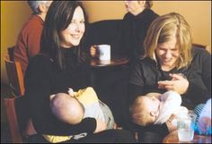 "Tips for breastfeeding in public if you feel self-conscious. LOVE this one: ""Always smile at a mum with a baby, regardless of how she is feeding."""