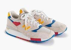 J.Crew and New Balance hit the beach for their latest collaborative colorway of the classic 998 inspired by the toy every kid needs when they hit the sand on a hot summer day, a beach ball. With a sandy tan … Continue reading →