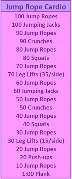 great, fairly quick workout that covers it all....This covered my squat challenge for the day (80). I'm really enjoying jumping rope.