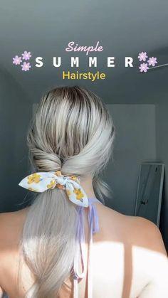 Work Hairstyles, Summer Hairstyles, Pretty Hairstyles, Simple Hairstyles, Curly Bun Hairstyles, School Hairstyles, Hairdos, Medium Hair Styles, Curly Hair Styles