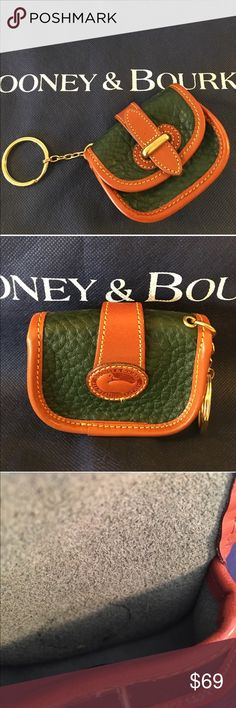 ⭐️DOONEY & BOURKE VINTAGE RARE KEYFOB/CHAIN 💯AUTH DOONEY & BOURKE LOVELY RARE ESSEX PURSE SHAPED KEYCHAIN 100% AUTHENTIC. SO BEAUTIFUL AND IN LOVELY ALMOST NEW CONDITION! IT MEASURES 3.5 INCHES WIDE BY 2.75 INCHES TALL. THIS IS TRULY A DOONEY & BOURKE COLLECTORS ITEM Dooney & Bourke Accessories Key & Card Holders