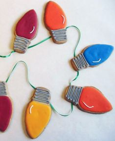 Best Holiday Cookies Ever: Lights Cookies