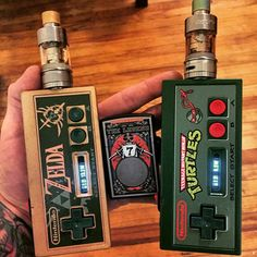 I so want a NES controller mod! Ejuice Available at  http://www.voomvape.com/category/e-juice