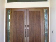 wp_132 Main Entrance Door Design, Entrance Doors, Wooden Double Doors, Wood Doors, Tall Cabinet Storage, Solid Wood, Furniture, Home Decor, Entry Doors