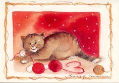 Minna Immonen,  Alisa Hamu - Picasa Web Albums Sculpture Painting, Cat Drawing, Cute Illustration, Pottery Art, Cat Art, Drawings, Artwork, Finland, Paintings