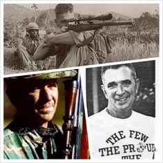 Carlos Haithcock--Marine sniper