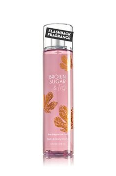 Brown Sugar & Fig Fine Fragrance Mist - The enticingly warm scent of ripe fig, creamy coconut milk, caramelized brown sugar & soft musk (for Cara <3 )
