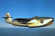 STRANGE MILITARY AIRCRAFT - SAUNDERS-ROE SR A-1 SQUIRT - AMAZING SEAPLANE