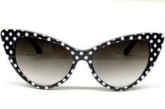 Cat Eye Vintage Retro Polka Dots Sunglasses Womens Wm501 (black / white, uv 400) CatEye, http://www.amazon.com/dp/B007WTRI8Y/ref=cm_sw_r_pi_dp_NI.Rpb1K8B4XV