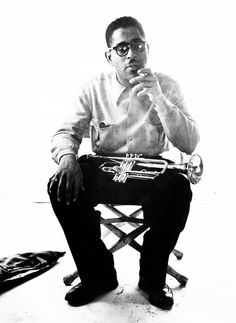 Dizzy Gillespie by Milton Greene
