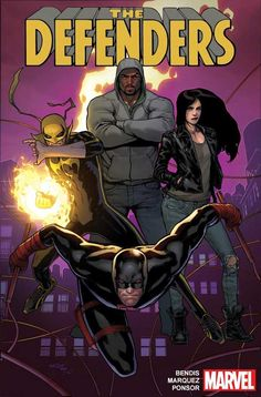 COMICS: Marvel Announces A New DEFENDERS Series Starring The Heroes From The Netflix TV Show