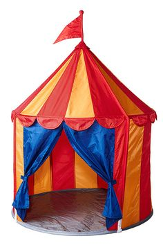 """2013 Holiday Gift Guide for Kids"", featuring the CIRKUSTÄLT children's tent @Traditional Home.com"