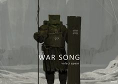 War Song - volsci spear, Mikhail Borulko on ArtStation at http://www.artstation.com/artwork/war-song-volsci-spear