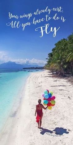 Your Wings Already Exist. All You Have To Do Is Fly. | More Inspiration here: The Best Travel Jobs | 50 Ways To Make Money While Traveling The World | via @Just1WayTicket
