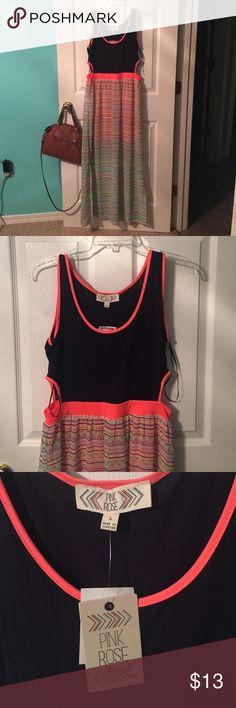d8b916571ac Maxi Dress Pink Rose maxi dress Pink Rose Dresses Maxi