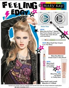 MaryKay@Play. New Products from Mary Kay!! Go to www.marykay.com/dayres-potocki to check out these products, the looks and more!!