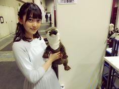 mos-rin: カワウソさん | 乃木坂46 堀未央奈 公式ブログ | 日々是遊楽也