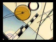 Kandinsky - Composition VIII & The Rite of Spring - Igor Stravinski Animation- fun! (1:20)