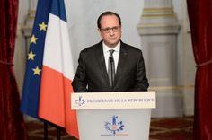 Attentats à Paris : François Hollande déclare 3 jours de deuil national
