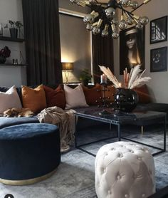 ~ Gorgeous House 20 stunning elegant living room decor ideas and remodel 00010 Living Room Decor Cozy, Elegant Living Room, Elegant Home Decor, Elegant Homes, My Living Room, Cheap Home Decor, Interior Design Living Room, Home And Living, Living Room Designs