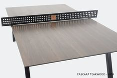 Woolsey Outdoor Ping Pong Table | Multiple Options — Sean Woolsey Studio Outdoor Ping Pong Table, Outdoor Tables, Game Tables, Table Games, Indoor Air Quality, Exterior, Studio, Design, Board Games