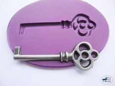 Key Mold/Mould 1 -Silicone Mold - Steampunk - Polymer Clay Resin Fondant