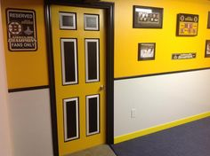 The Bobby Orr Wall Is Complete In Our Bruins Bar