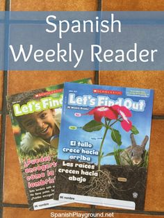 Spanish Weekly Reader from Scholastic for language learners in elementary grades. Print and digital editions with short, easy readings, games and videos.