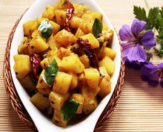 Aloo or Potato Fry is a simple stir fried potato recipe made using basic Indian spice mix.