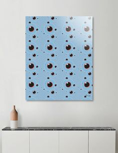 Discover «Fish eye blue», Limited Edition Aluminum Print by Beata Wielgos / BeaYourself - From $65 - Curioos