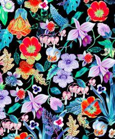 Vimma ss16. Cotton. Mystical flowers.