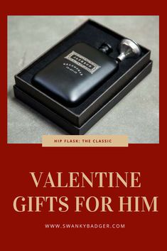Add a Name or Initials to the front of this beautiful, personalized hip flask, and up to 30 words of a message on the back. The Matte Black exterior with Stainless Steel contrast gives an amazing finish and makes for a great Groomsmen Gift.