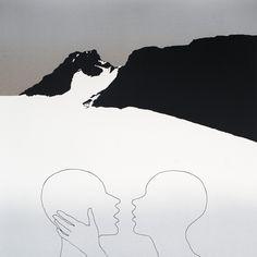 Per Kleiva - Ein vakker morgon Different Kinds Of Art, Printmaking, Pop Art, Stencils, Mixed Media, Illustration Art, Snow, Artists, Contemporary