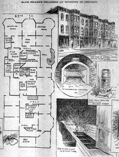 Murder Castle 2nd Floor plan