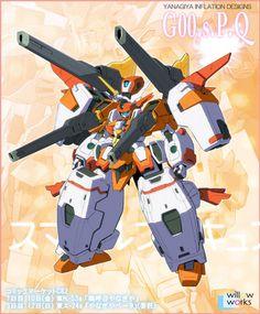 GUNDAM GUY: Gundam 00 x Smile Precure - Gundam Artworks