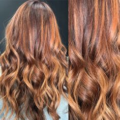 Dimensional #redhair with #copper #highlights