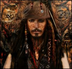 Jack Sparrow Photograph - The Brother Of Jack Sparrow by Daniel Arrhakis Captain Jack Sparrow, Walt Disney Pictures, Pirates Of The Caribbean, Johnny Depp, Photo Manipulation, Brother, The Incredibles, Actors, Stock Photos