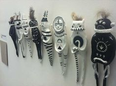 Laura Nash Green's sculptures