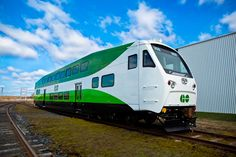 CANADA: Ontario transport authority Metrolinx has ordered a further 36 double-deck coaches from Bombardier Transportation to bolster GO Transit services in the Toronto area. Go Cab, Go Transit, N Scale Layouts, Train Light, Commuter Train, Double Deck, Light Rail, Rolling Stock, Train Car