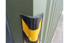 Rubber Corner Protector Dimensions: 115 x 115 x 800 mm Weight: kg The Corner Protector is a medium weight highly visible corner protector with added thickness on the corner where most impacts occur. It comes complete with honeycomb reflective tape. Warehouse Management, Money Stacks, Corner Wall, Storage Design, Safety, Environment, Security Guard, Pantry Design