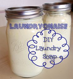 DIY Laundry Soap - Laundryonaise by ImperfectlyHappy.com
