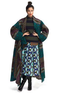 Ainka Coat by Stella Jean - Moda Operandi