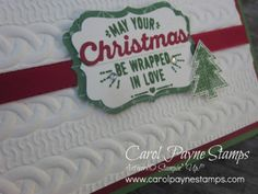 Stampin' Up!, DIY Crafts, Wrapped in Warmth, Cable Knit Dynamic folder, handmade Christmas cards, rubber stamping, paper crafts, http://www.stampinup.net/esuite/home/carolpayne/