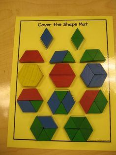 composing shapes | ... is a great activity for analyzing and composing shapes. My kids LOVE