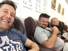 """These fellas are getting ready for this weekend in the amazing - and that massage really got the best of and - Lana Smallville, Tom Welling Smallville, Walter Jones, Michael Rosenbaum, Tom Love, Allison Mack, Step Up Revolution, Beau Mirchoff, Chad Michael Murray"